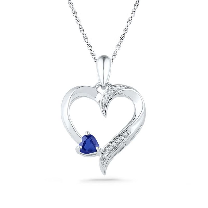 Buy Kiara Sterling Silver Pendant Made With Cubic Zirconia Stone( Code - Kip0334 ) online