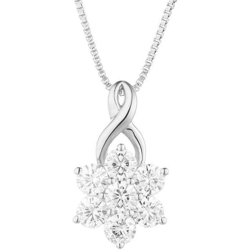 Buy Kiara Swarovski Signity Sterling Silver Vidya Pendant Kip0469 online