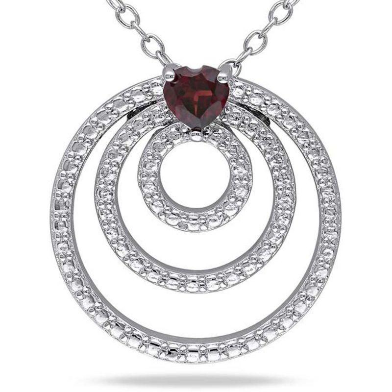 Buy Kiara Swarovski Signity Sterling Silver Supriya Pendant Kip0516 online