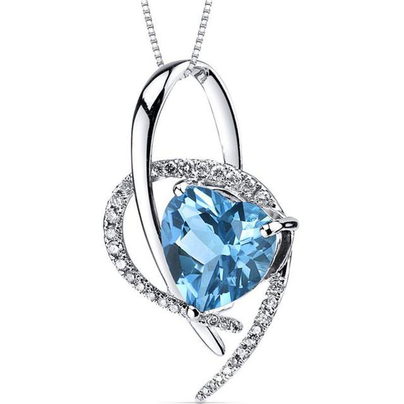 Buy Kiara Swarovski Signity Sterling Silver Vidya Pendant Kip0563 online