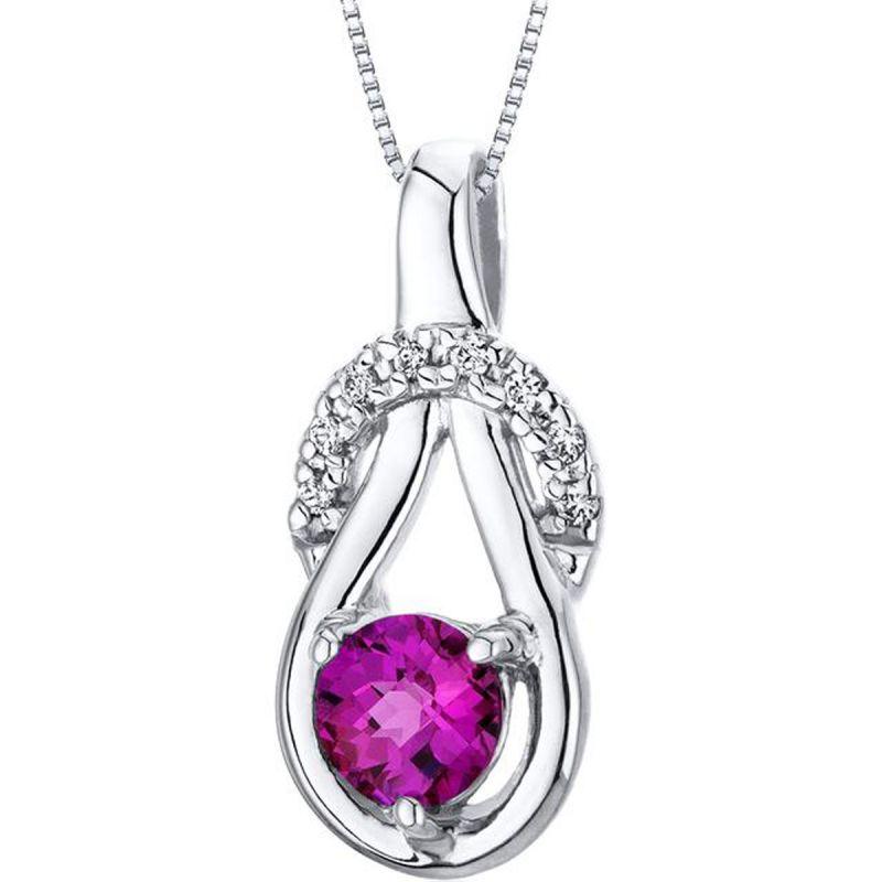 Buy Kiara Swarovski Signity Sterling Silver Swapnali Pendant Kip0598 online