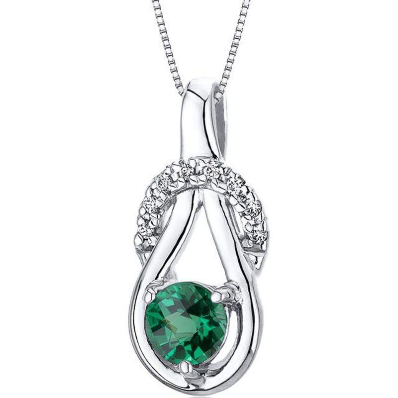Buy Kiara Swarovski Signity Sterling Silver Priyanka Pendant Kip0601 online