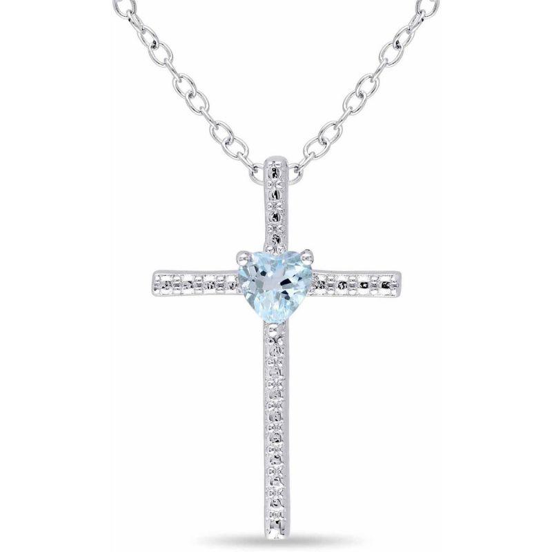 Buy Kiara Swarovski Signity Sterling Silver Rashi Pendant Kip0608 online
