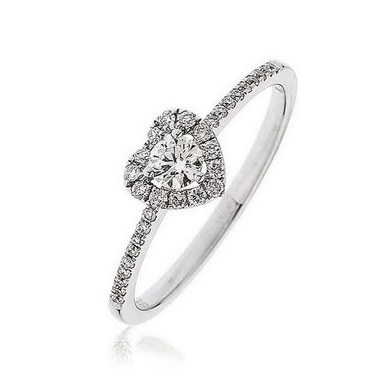 Buy Kiara Sterling Silver Ring Made With Swarovski Zirconia # Kir0315 online