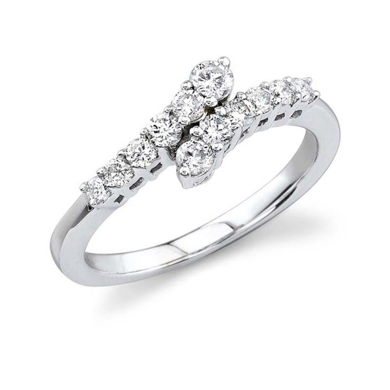 Buy Kiara Sterling Silver Ring Made With Swarovski Zirconia Kir0438 online