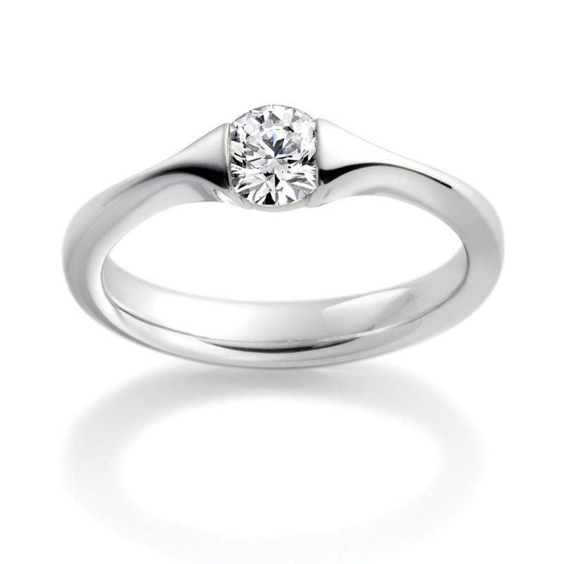 Buy Kiara Sterling Silver Ring Made With Swarovski Zirconia Kir0488 online