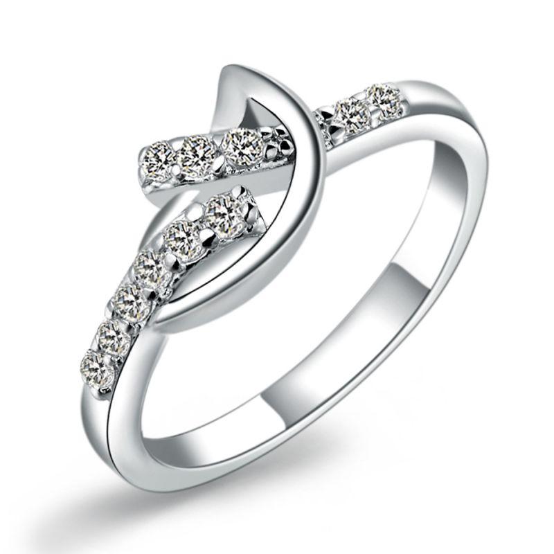 Buy Kiara Sterling Silver Ring Made With Swarovski Zirconia Kir0507 online