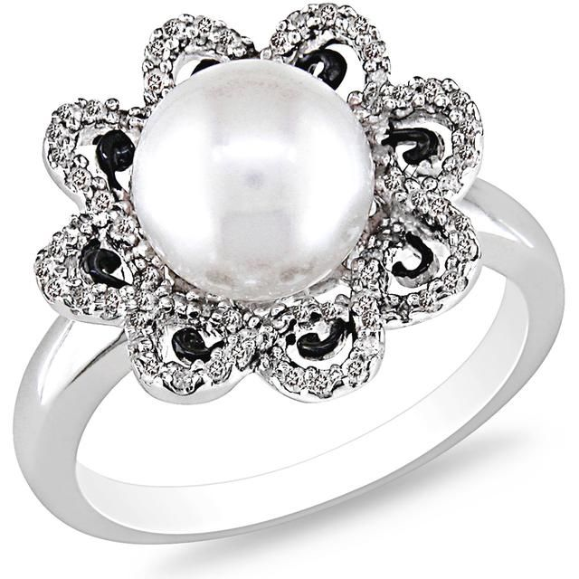 Buy Kiara Swarovski Signity Sterling Silver Pooja Ring online