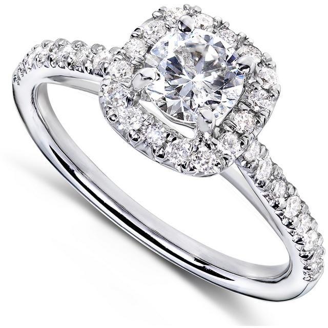Buy Kiara Swarovski Signity Sterling Silver Sushmita Ring Kir0699 online