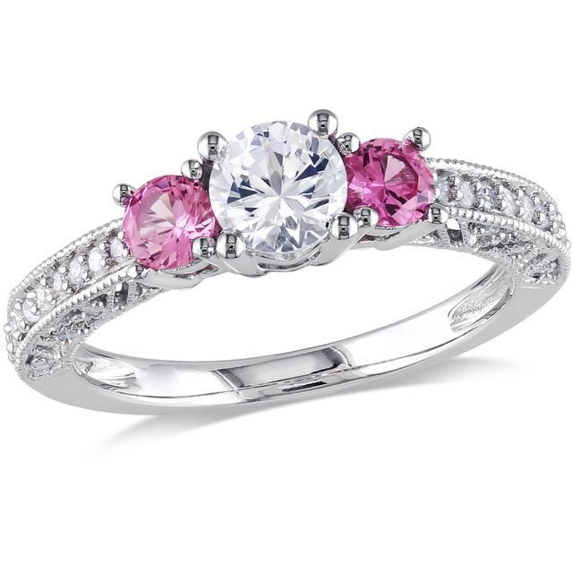Buy Kiara Swarovski Signity Sterling Silver Divya Ring online