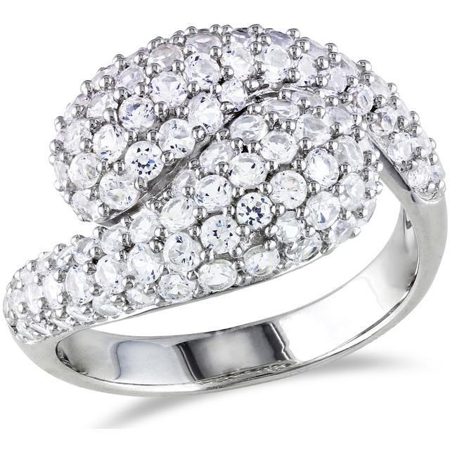 Buy Kiara Swarovski Signity Sterling Silver Pannu Ring Kir0753 online