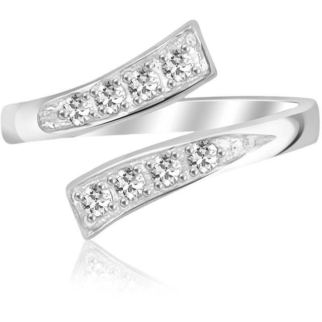Buy Kiara Swarovski Signity Sterling Silver Ash Ring Kir0758 online