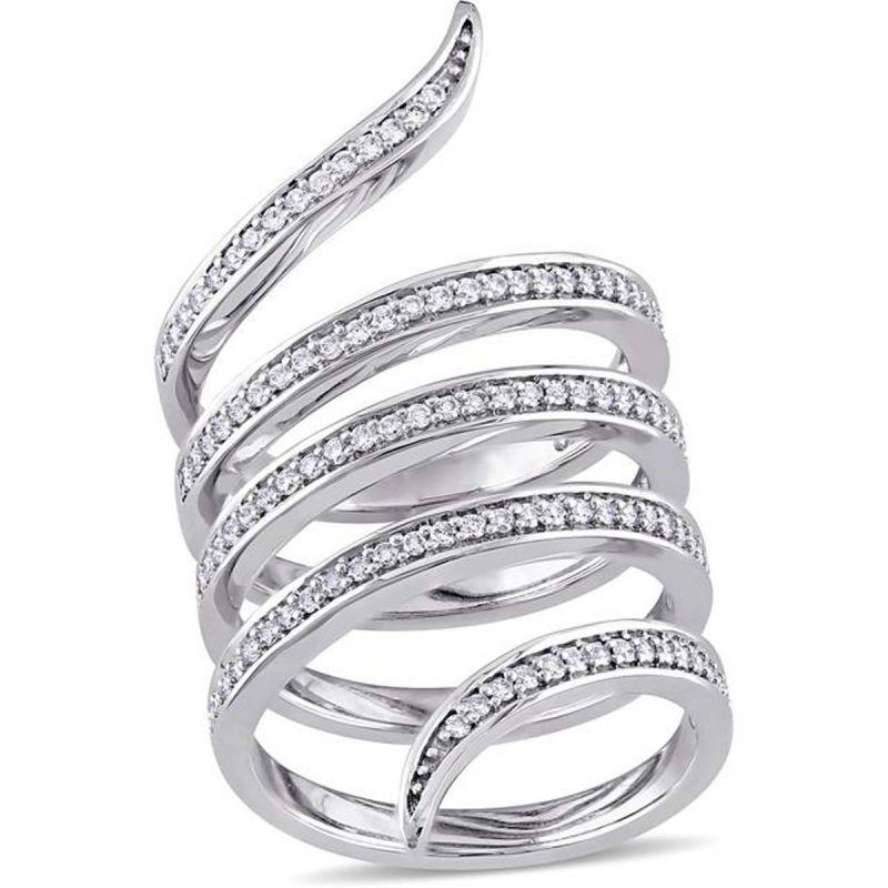 Buy Kiara Swarovski Signity Sterling Silver Amisha Ring Kir0770 online