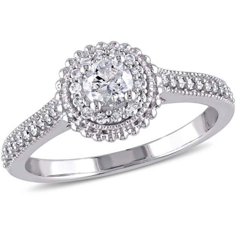 Buy Kiara Swarovski Signity Sterling Silver Archana Ring online
