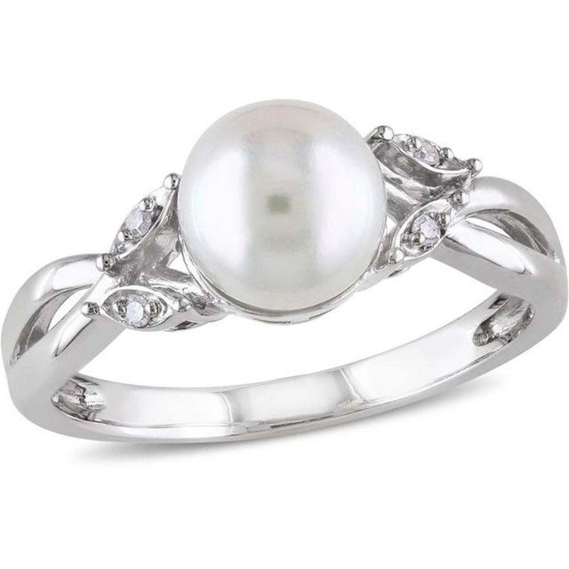 Buy Kiara Swarovski Signity Sterling Silver Pournima Ring Kir0782 online