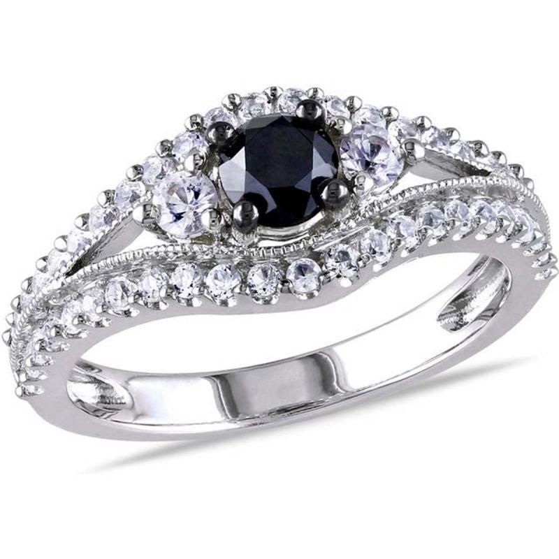 Buy Kiara Swarovski Signity Sterling Silver Shilpa Ring Kir0788 online