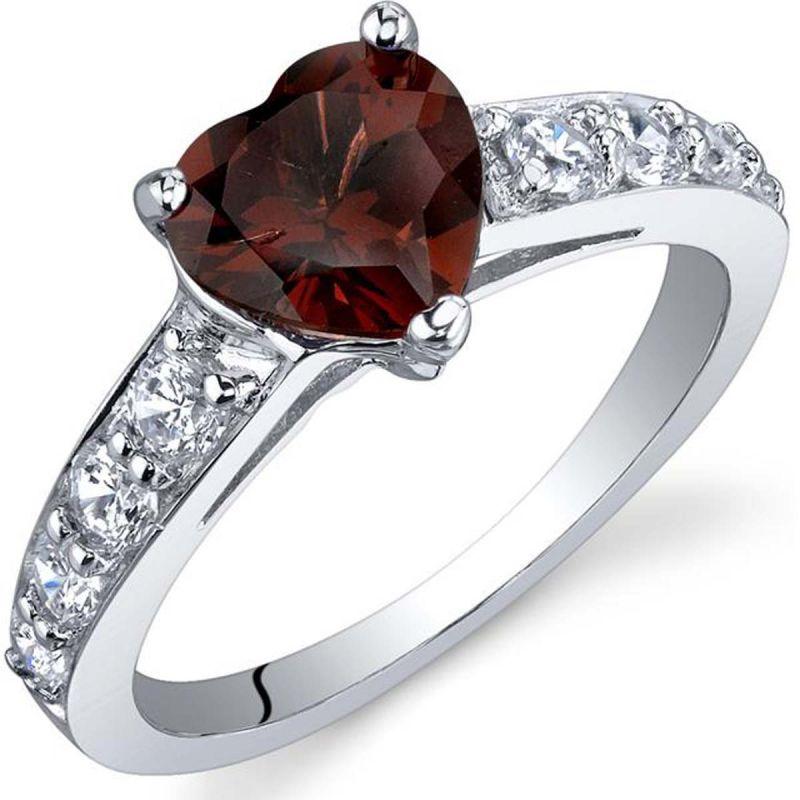 Buy Kiara Swarovski Signity Sterling Silver Darshana Ring online