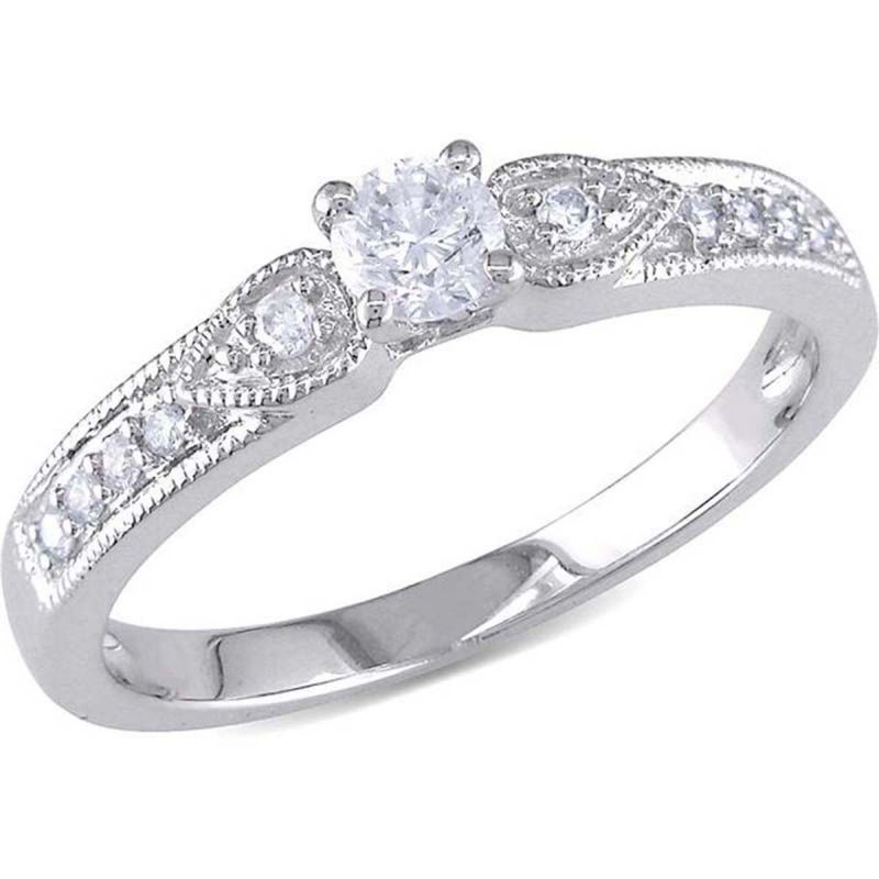 Buy Kiara Swarovski Signity Sterling Silver Sanchita Ring online