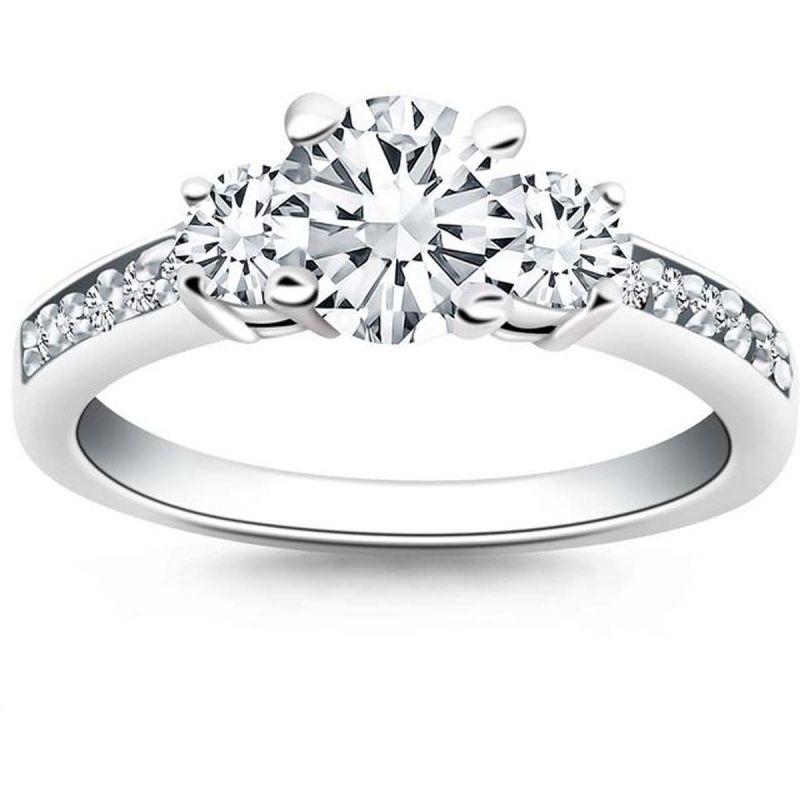 Buy Kiara Swarovski Signity Sterling Silver Samiksha Ring Kir0933 online