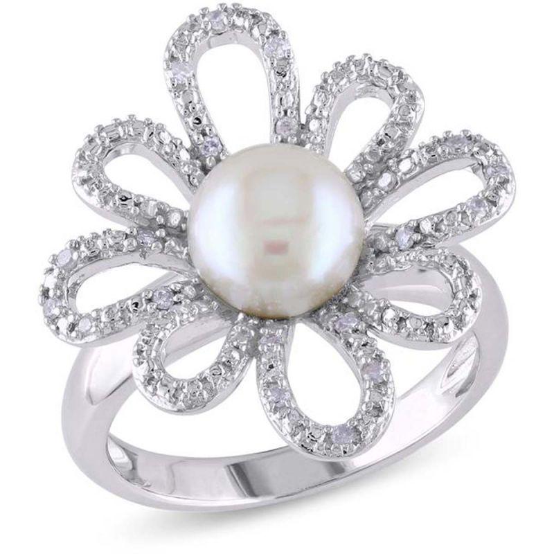 Buy Kiara Swarovski Signity Sterling Silver Nandini Ring Kir0937 online