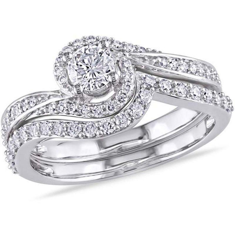 Buy Kiara Swarovski Signity Sterling Silver Chaitrali Ring Kir0949 online