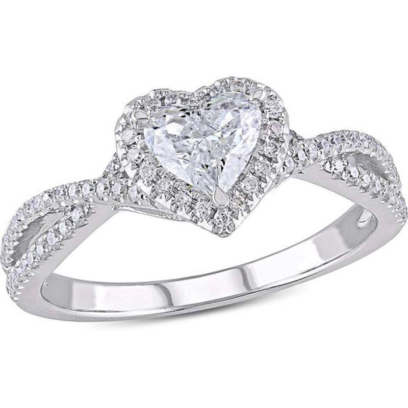 Buy Kiara Swarovski Signity Sterling Silver Divyanka Ring online