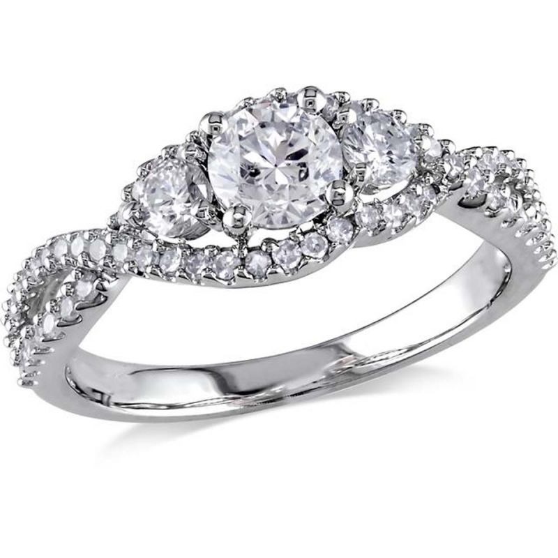 Buy Kiara Swarovski Signity Sterling Silver Radhika Ring Kir0961 online