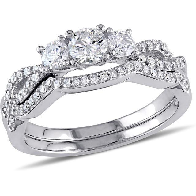 Buy Kiara Swarovski Signity Sterling Silver Purva Ring online
