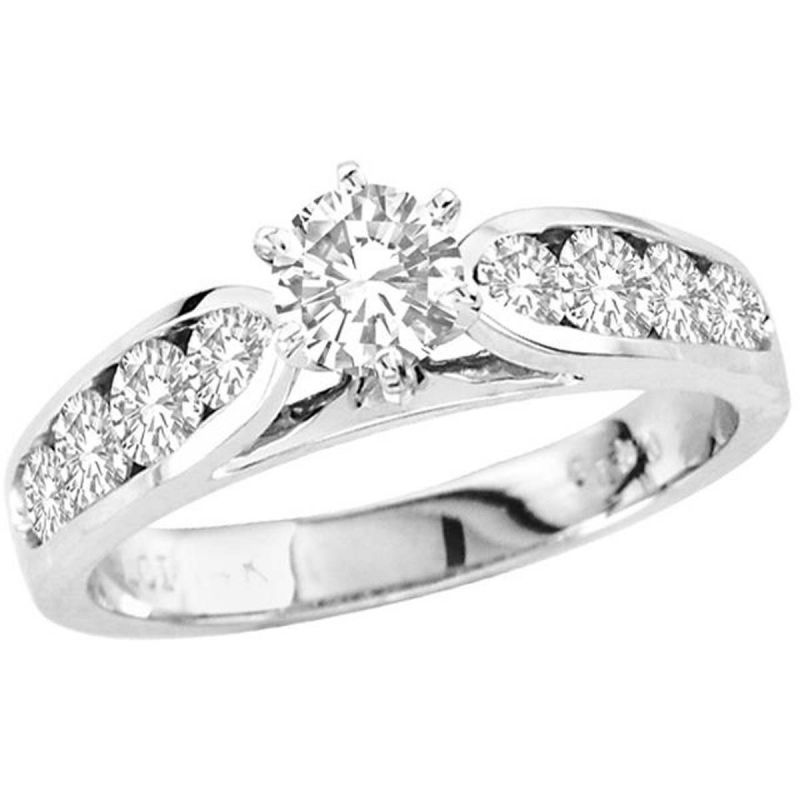 Buy Kiara Swarovski Signity Sterling Silver Minal Ring online
