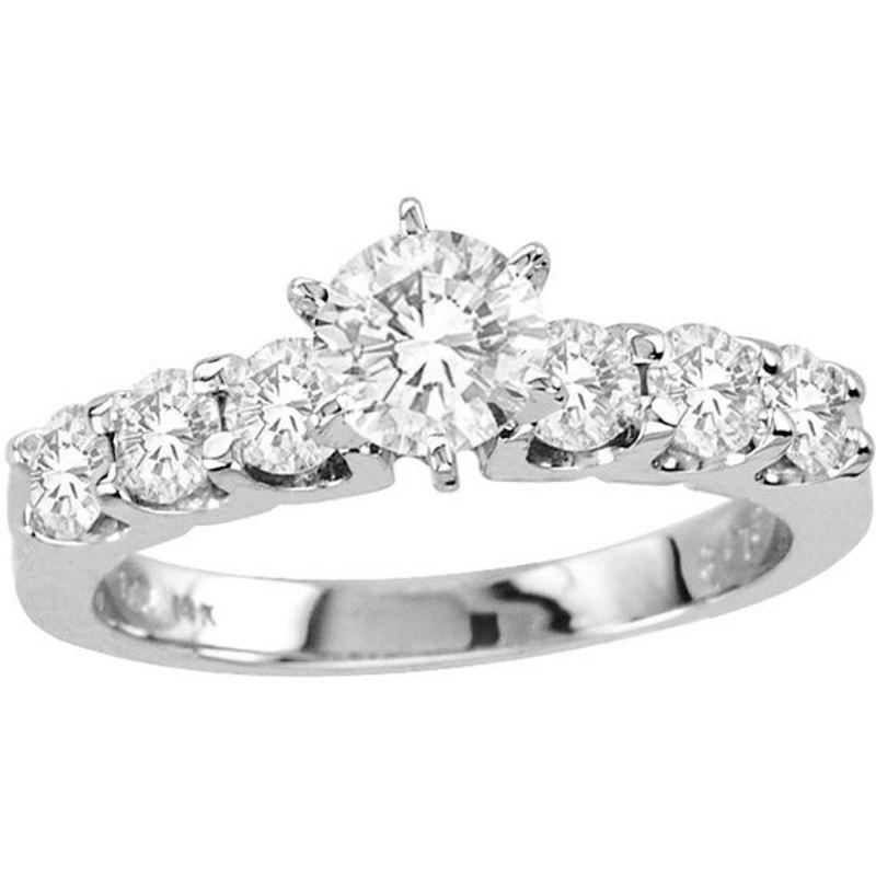 Buy Kiara Swarovski Signity Sterling Silver Snehal Ring Kir0987 online