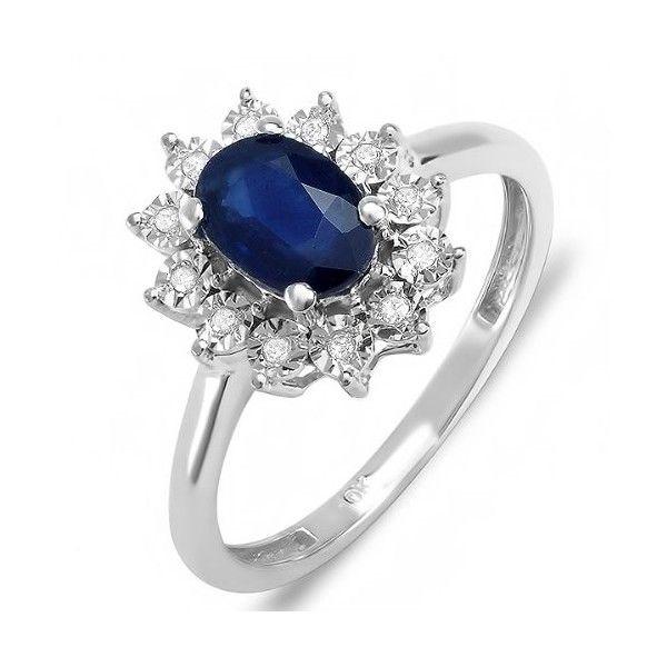 Buy Kiara Swarovski Signity Sterling Silver Kavay Ring online