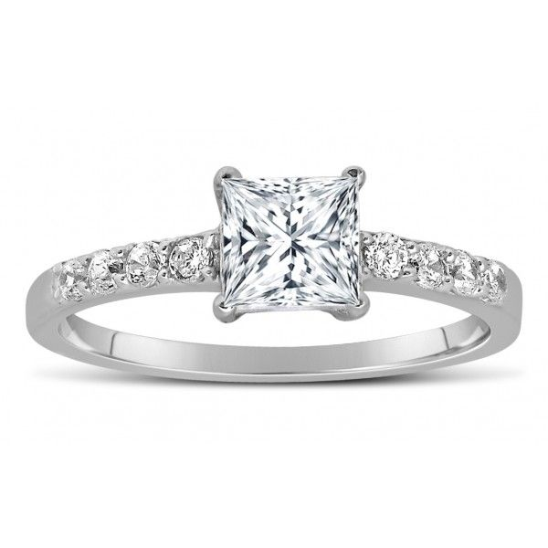 Buy Kiara Swarovski Signity Sterling Silver Durga Ring Kir1325 online