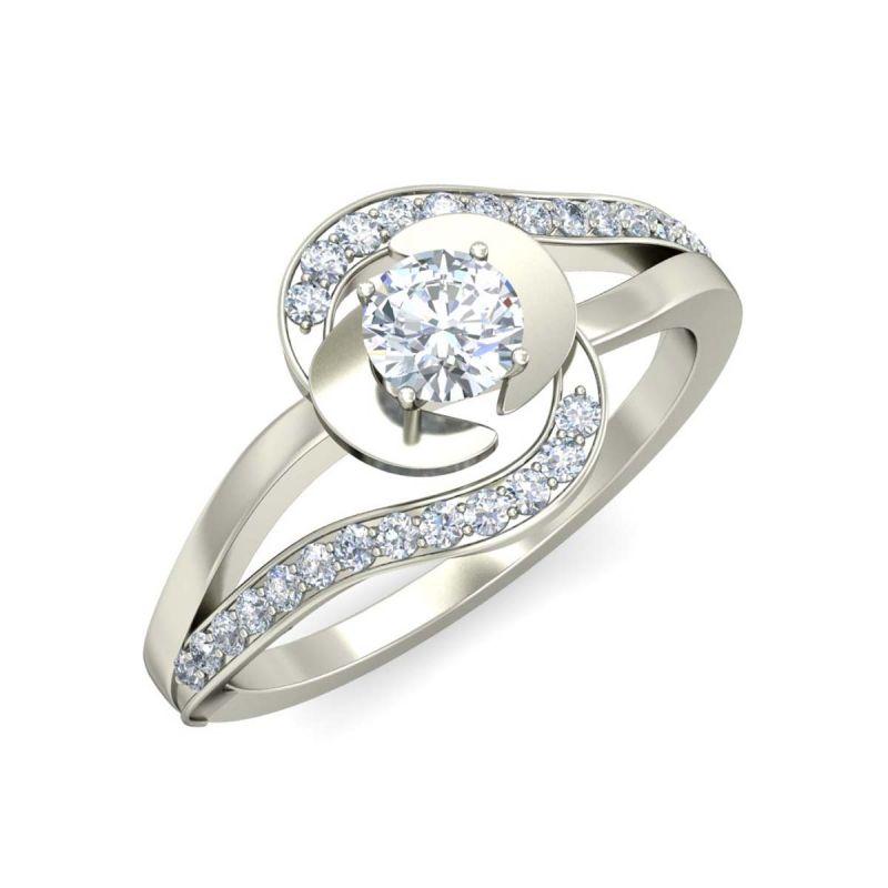 Buy Kiara Sterling Silver Advika Ring Kir1661 online