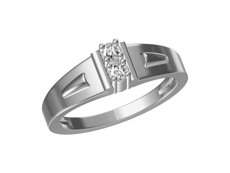 Buy Kiara Sterling Silver Nargis Ring Mkgr022w online