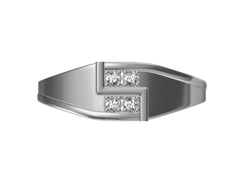 Buy Kiara Sterling Silver Ankita Ring Mkgr030w online