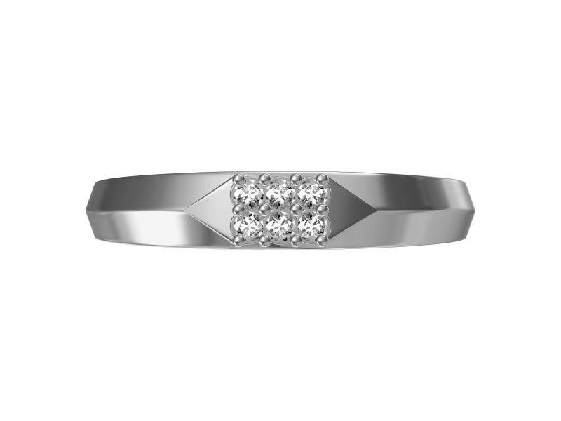 Buy Kiara Sterling Silver Godavri Ring Mkgr062w online