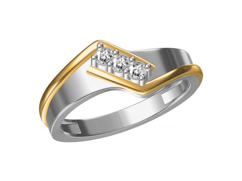 Buy Kiara  Sterling Silve Avani Ring online