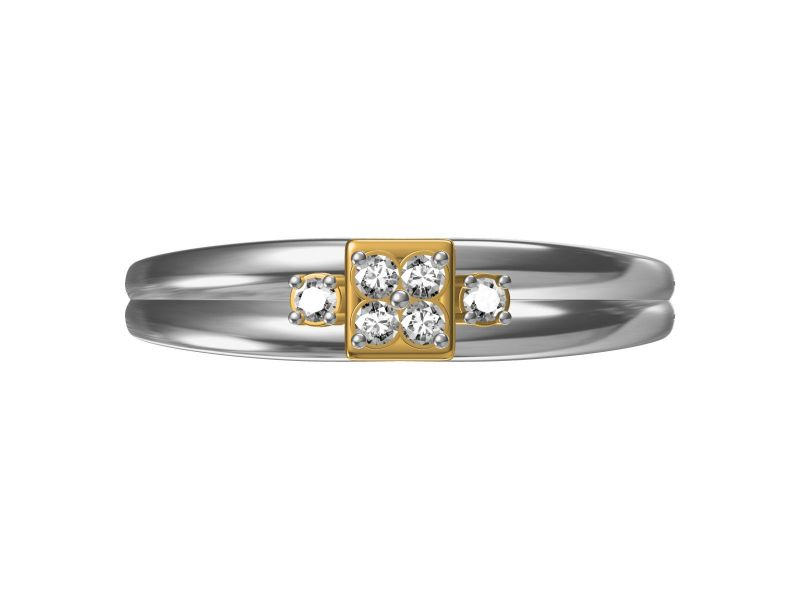 Buy Kiara  Sterling Silve Isha Ring online