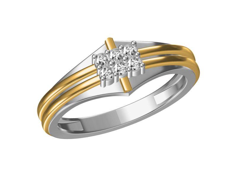 Buy Kiara Sterling Silve Ranchi Ring Mkjr331wt online