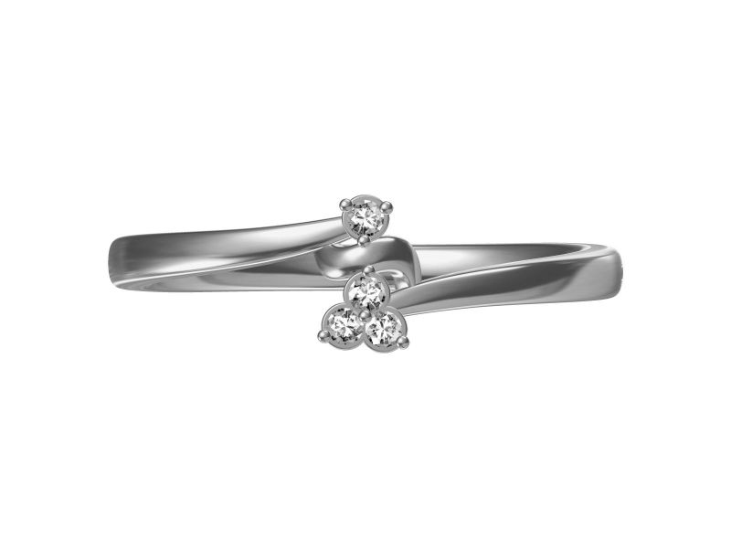 Buy Kiara Sterling Silve Samidha Ring Mkr032w online
