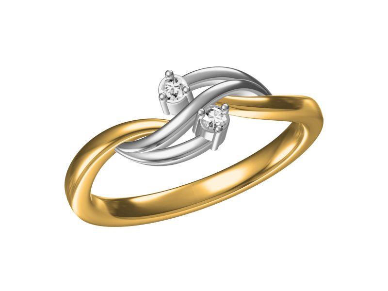 Buy Kiara Sterling Silve Swara Ring Mkr079wt online