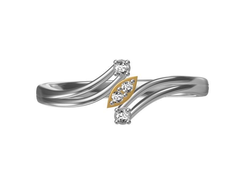 Buy Kiara Sterling Silver Kumkum Ring online