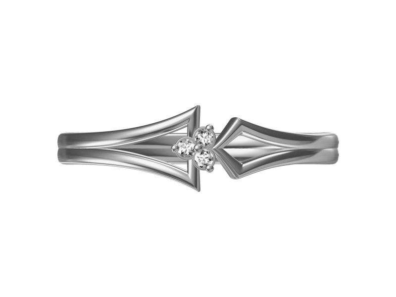 Buy Kiara Sterling Silver Neha Ring online