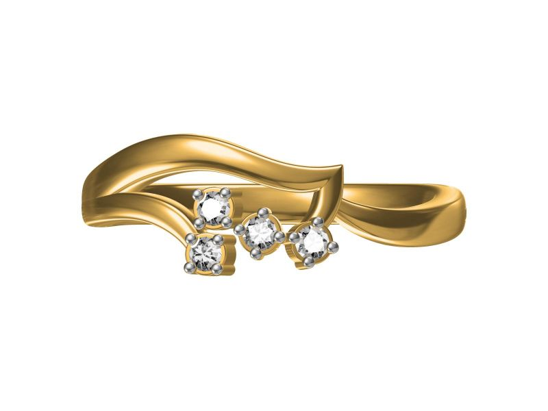 Buy Kiara Sterling Silver Anjali Ring online