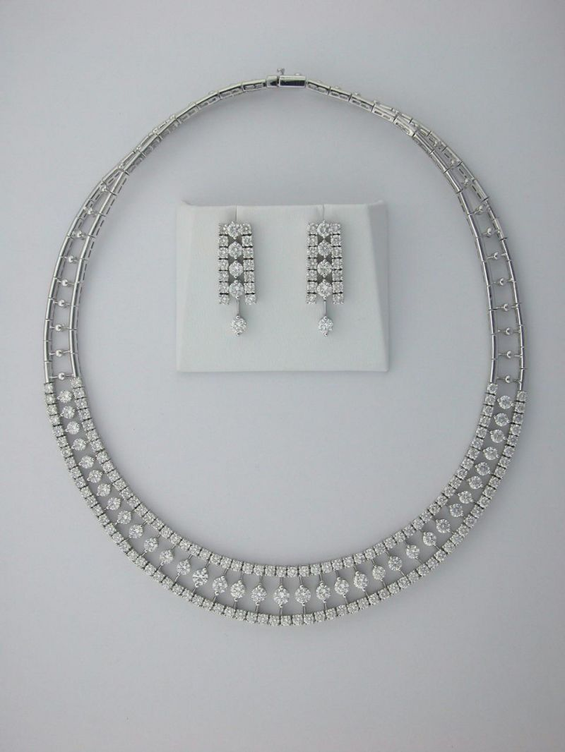 bridal jewelry sets white gold style guru fashion