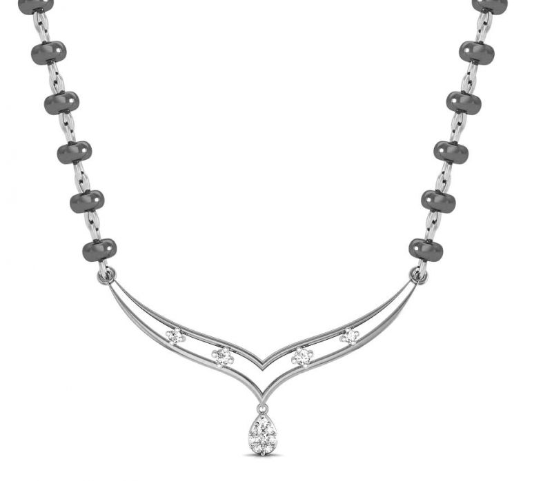 Buy Avsar Real Gold and Swarovski Stone Bengaluru Necklace online