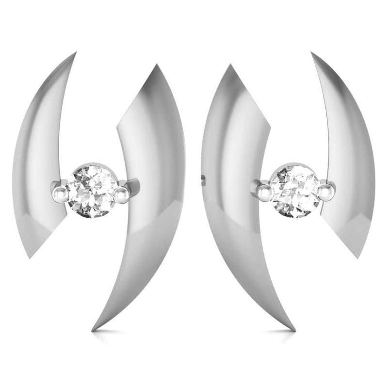 Buy Avsar Real Gold and Swarovski Stone Supriya  Earring online