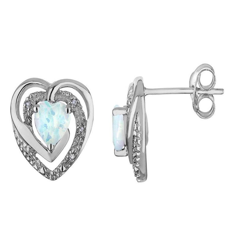 Buy Kiara Sterling Silver Earring made with Swarovski Zirconia online