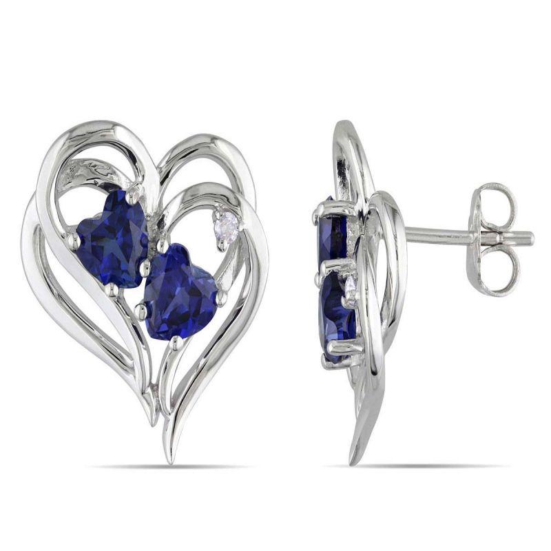 Buy Kiara Swarovski Elements White Gold Plated Earring Vae012 online