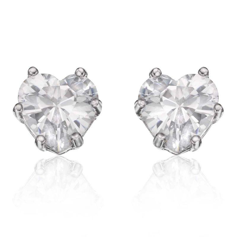 Buy Kiara Swarovski Elements White Gold Plated Earring Vae017 online